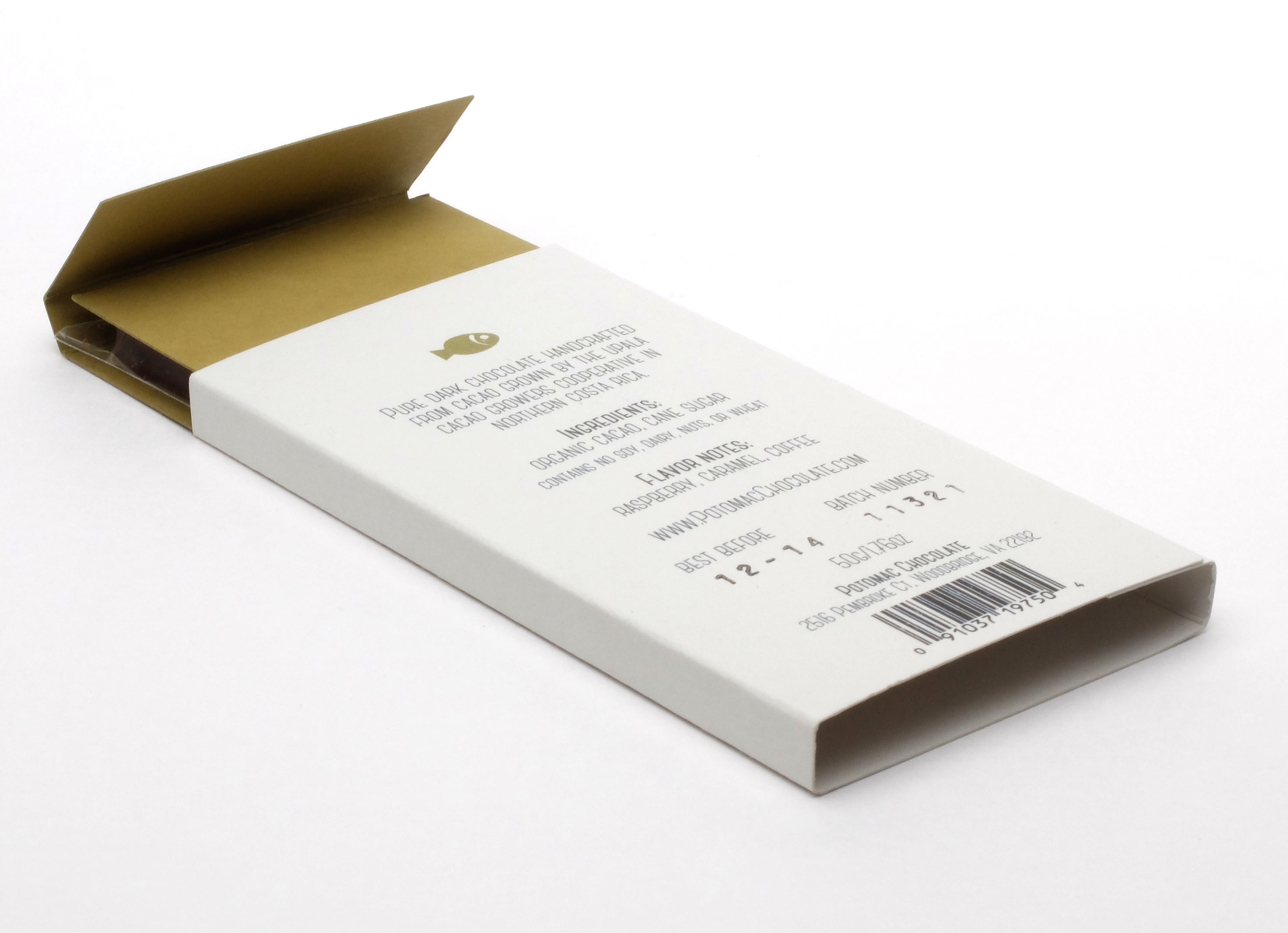 New Packaging Potomac Chocolate