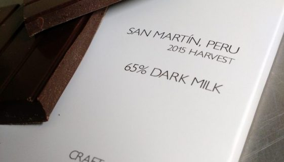 San Martin, Peru 65% Dark Milk Chocolate Bar