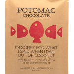 Potomac Chocolate - 70% + COCONUT Dark Chocolate
