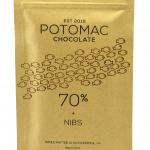 Potomac Chocolate - 70% + NIBS Dark Chocolate
