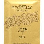 Potomac Chocolate - 70% + SALT Dark Chocolate