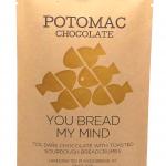 Potomac Chocolate - 70% + TOASTED SOURDOUGH Dark Chocolate