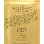 Potomac Chocolate - Upala, Costa Rica 85% Dark Chocolate