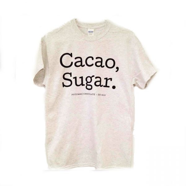 Potomac Chocolate - Cacao, Sugar. T- Shirt