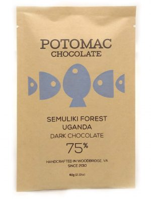 Potomac Chocolate - Semuliki Forest, Uganda 75% Dark Chocolate Bar