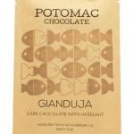 Potomac Chocolate - Gianduja Bar (Dark Chocolate with Hazelnut)