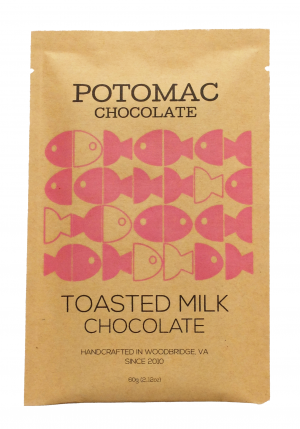 Potomac Chocolate - Toasted Milk Chocolate Bar