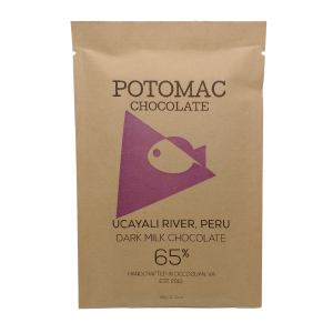 Potomac Chocolate - Ucayali River Peru 65% Dark Milk Chocolate