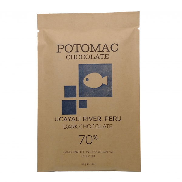 Potomac Chocolate - Ucayali River Peru 70% Dark Chocolate